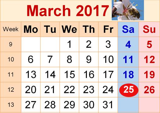 αργία 25ης Μαρτίου