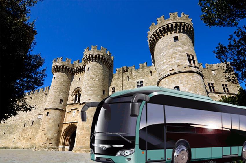 Υπολογισμός μισθών οδηγών τουριστικών λεωφορείων Ρόδου 2019 - 2020